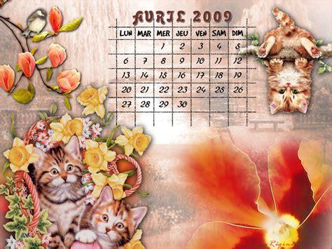 Calendrier Avril 2009 Calendriers Fonds D 233 Cran Du Mois 233 E 2009