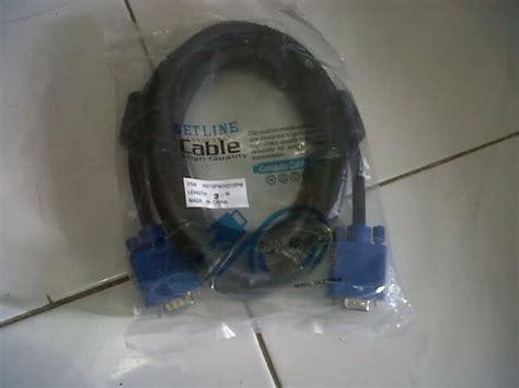 Jual Kabel Vga Netline jual kabel lcd proyektor kabel vga netline 3 meter