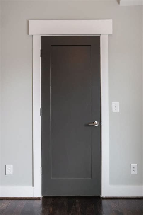 Door Upholstery by Best 25 Grey Interior Doors Ideas On