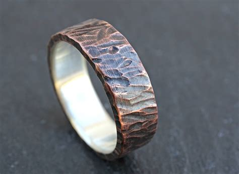 unique wedding band for viking ring mens promise ring
