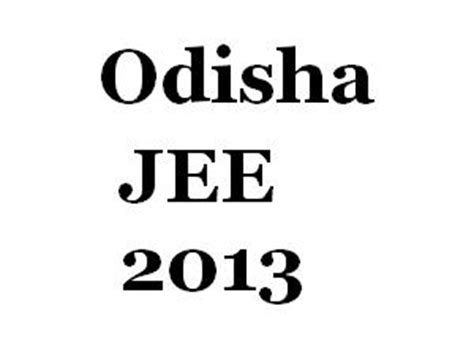 Ojee Mba Syllabus by Odisha Jee Engg Courses Seat Allotment List
