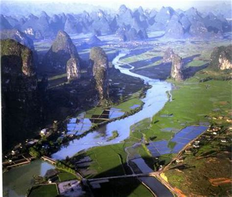 view from moon hill, yanghsuo, china | places i'd like to