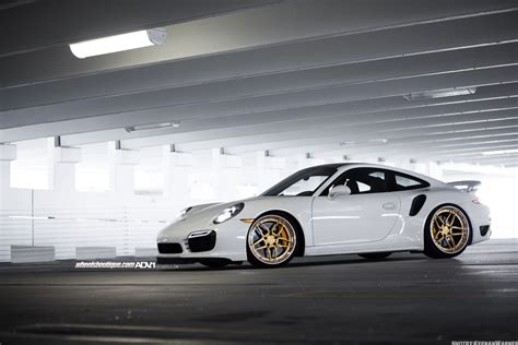 porsche turbo wheels white porsche turbo s adv05s track spec cs series wheels