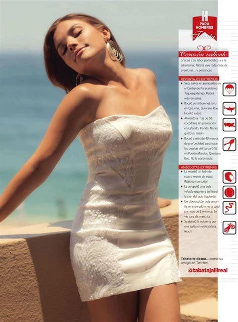 cuerazos fotos dorismar revista h tabata jalil en la revista h mexico agosto 2011 en el
