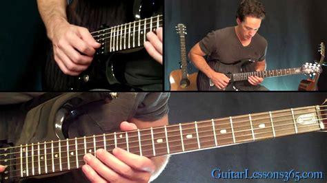 nothing else matters lesson nothing else matters guitar lesson pt 2 metallica