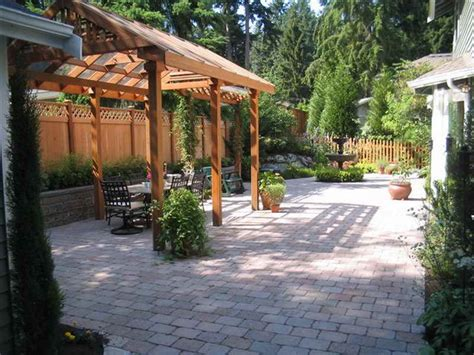 Backyard Patio by Backyard Patio Ideas Cheap Landscaping Gardening Ideas
