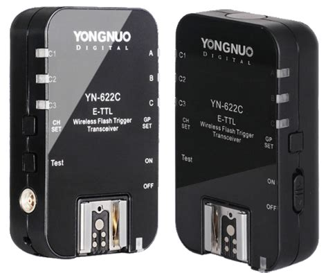 Trigger Yongnuo Yn622c yongnuo yn 622c wireless e ttl flash trigger dslr noob