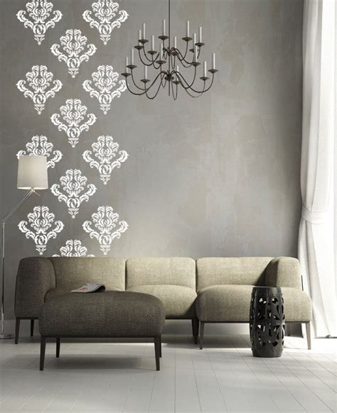 10 damask wall decal decor stickers