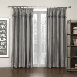 Grey Room Darkening Curtains Pleated Grey Stripe Mordern Room Darkening Curtain Suits Window 47 Quot 62 Quot Wide 84 Quot Drop