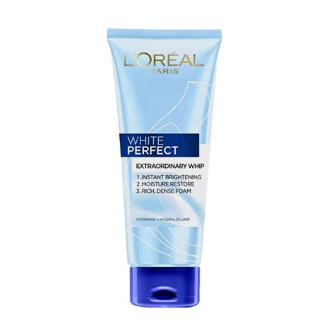 Harga L Oreal White Foam jual l oreal white whip foam 100 ml
