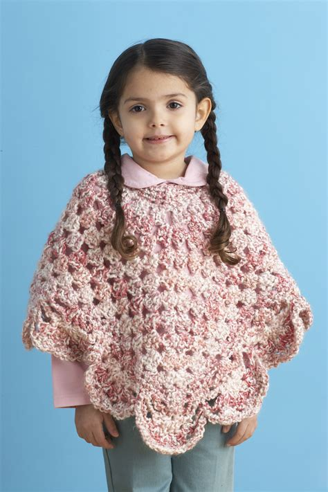 free knitting patterns poncho child free child s poncho crochet pattern crochet and knit