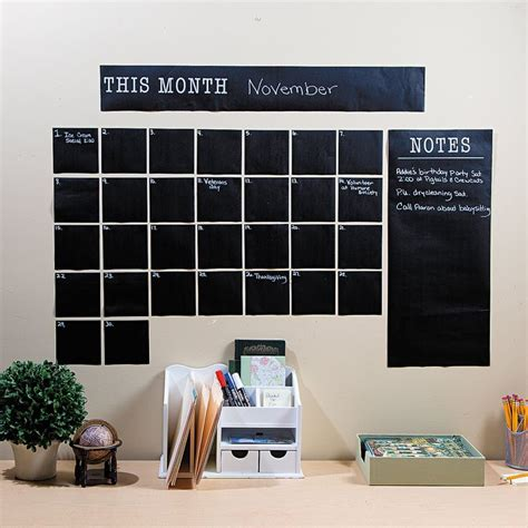 Adhesive Erase Wall Calendar - 25 unique erase calendar ideas on