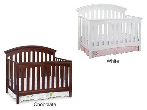 Delta Crib Toddler Rail by Delta Children Bentley 4 In 1 Crib Chocolate Delta Bentley Toddler Rail Baby