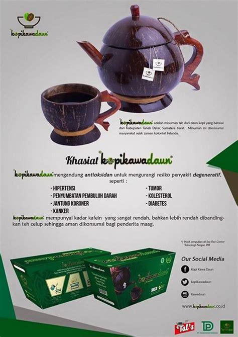 Teh Celup Kopi Kawa minuman tradisional aia kopi kawa daun dan inovasi pemuda kreatif news from indonesia