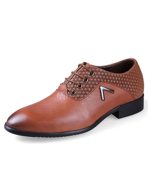brown flat dress shoes plus size dress shoes s brown lace up flat formal