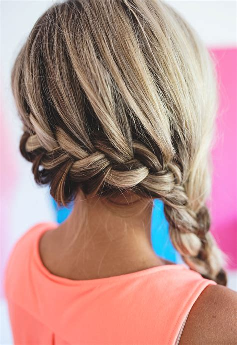 updated braid styles 2 party ready french braid updates a subtle revelry