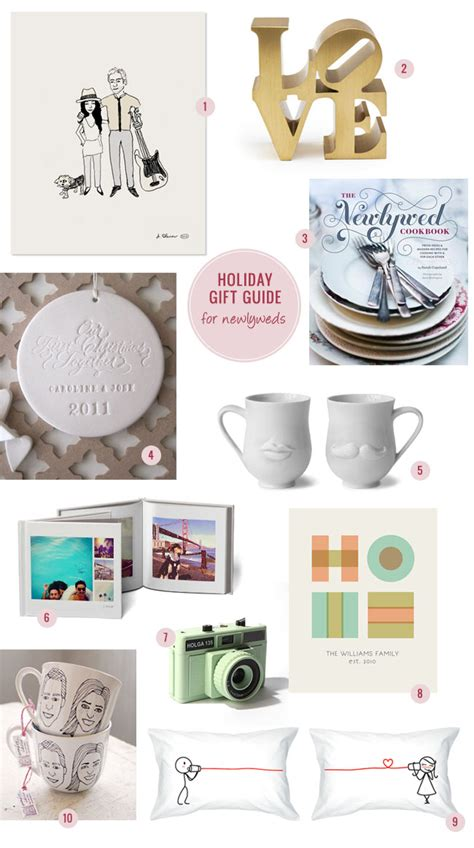 holiday gift guide newlyweds
