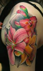 color flower tattoos junkies studio tattoos tim mcevoy