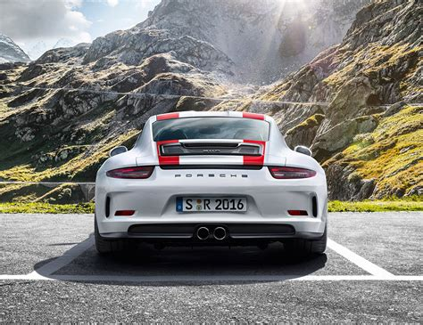 porsche 911 r 2017 porsche 911 r the awesomer