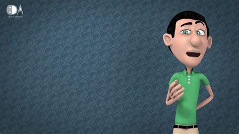film cartoon 3d youtube 3d cartoon character green guy youtube