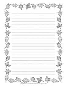 Leaf Shaped Writing Paper Results For Fall Writing Paper Guest The Mailbox
