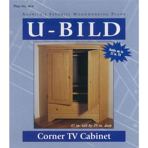 shop u bild corner tv cabinet woodworking plan at lowes