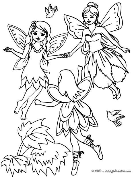 Coloriages ronde des fées à colorier - fr.hellokids.com
