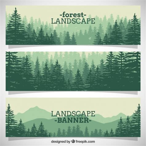 template forrest forest vectors photos and psd files free