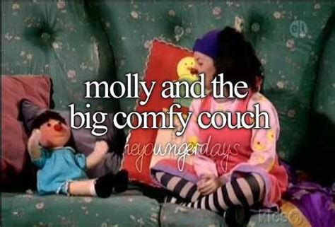 molly and the comfy couch 17 best images about 90 s shows my kid watched on