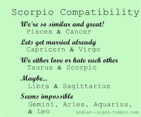 scorpio and virgo marriage zodiac signs compatibility