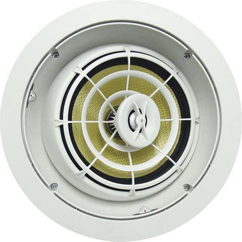 speakercraft ceiling speakers speakercraft aim8 five in ceiling speaker asm93851 b h