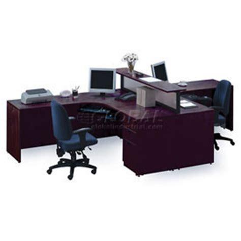 two person peninsula desk desks office collections 2 person l desk workstation