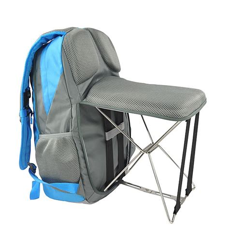 Best Backpack Chair by A Backpack With A Fold Out Chair Is The Traveller S Best