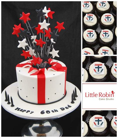 themed birthday cakes melbourne 33 best images about afl st kilda football club