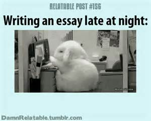 Late Nights On Air Essay by Outrageously Relatable Posts Damnrelatable On Imgfave