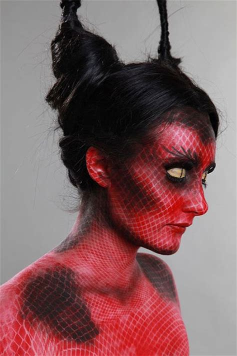 halloween hairstyles devil 10 halloween devil makeup ideas for girls women 2016
