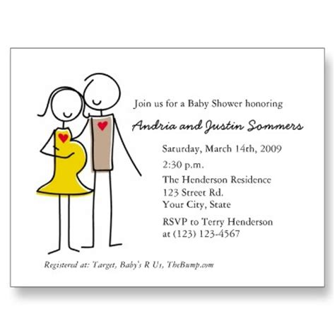 Baby Shower For Couples by Cheap Couples Baby Shower Invitations Invitesbaby