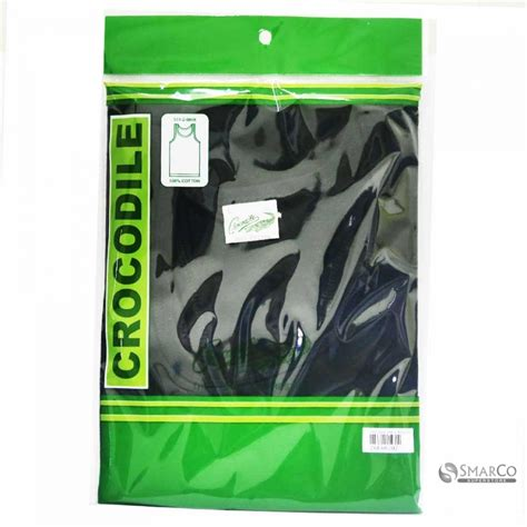 detil produk crocodile 808 w singlet polos warna l