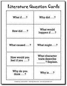 Sphere Literature Review by Literature Circle Printables