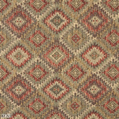 southwestern fabrics upholstery mint green and beige and coral navajo southwestern