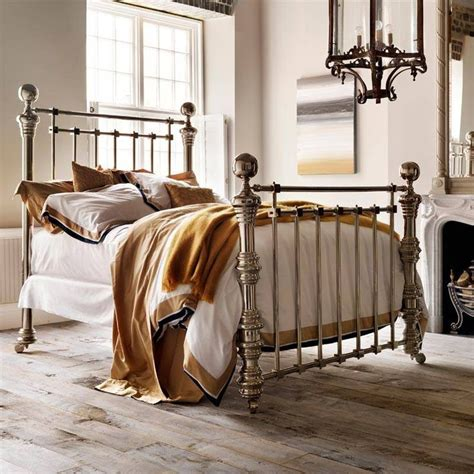 victorian bed victorian style nickel bed boudoirs pinterest
