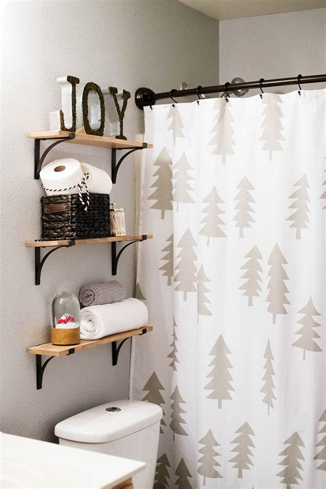 holiday bathroom accessories holiday guest bathroom decor