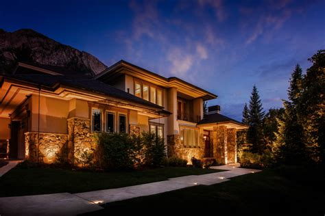 Landscape Lighting Utah Outdoor Residential Security Lighting Ideas And Pictures
