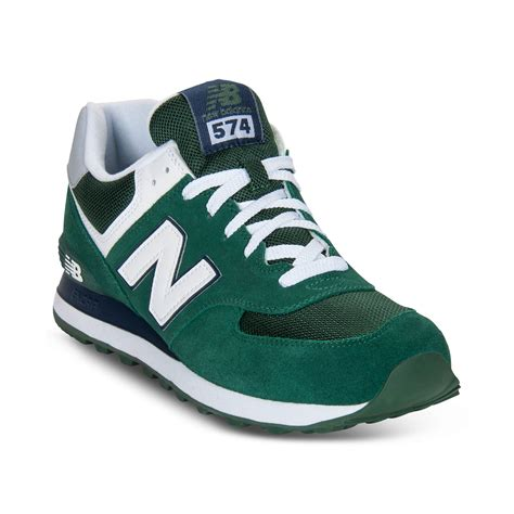 sneakers for new balance sneakers in green for lyst