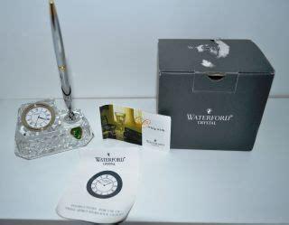 danbury desk clock pen set danbury clock co desk clock pen set new batteries on popscreen