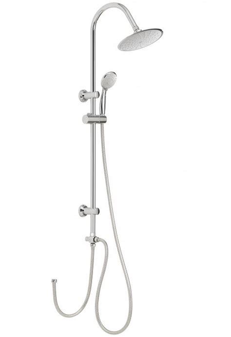 doccia con soffione e doccetta colonna doccia a ponte gedy acciaio inox con soffione