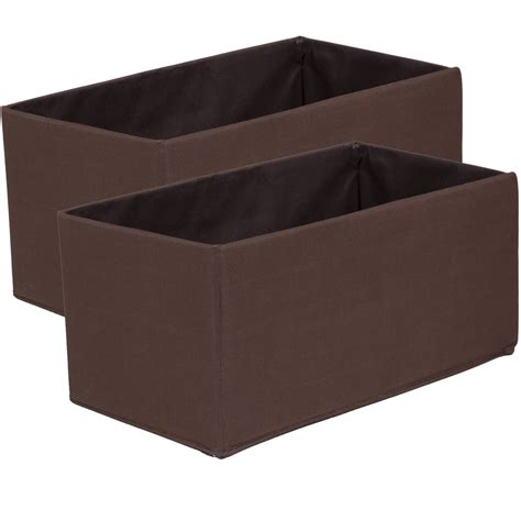 storage boxes and shelves fabric storage boxes mini set of 2 in shelf bins