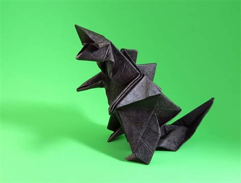 How To Make An Origami Godzilla - origami godzilla gilad s origami page
