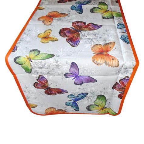 runner per tavolo runner per tavolo fantasia farfalle dolce casa biancheria