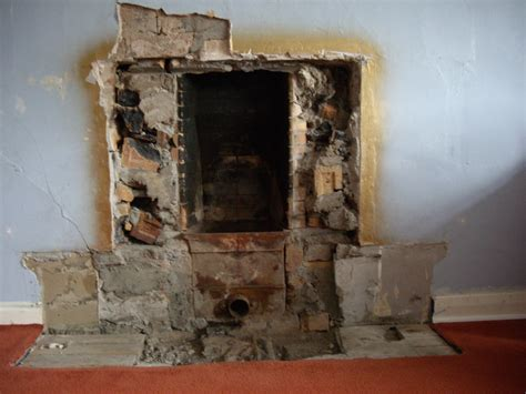 rebuild fireplace in existing opening inc fit lintel